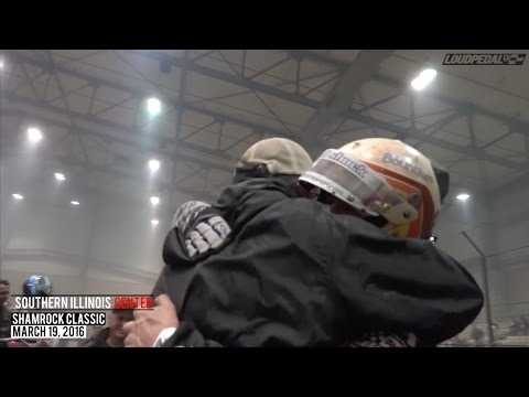 Highlights: USAC National Midgets at Southern Illinois Center - March 19, 2016
