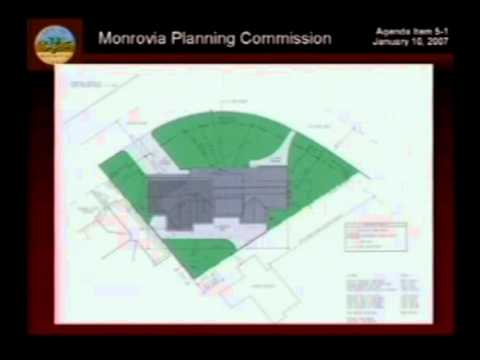 January 10, 2007 | Monrovia, CA | Planning Commission Meeting