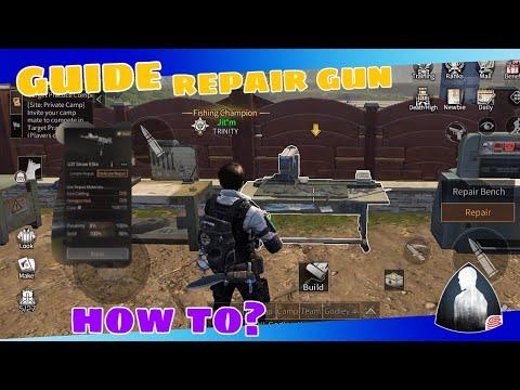 GUN REPAIRING,GUIDE!!! | LIFE AFTER | NETEASE