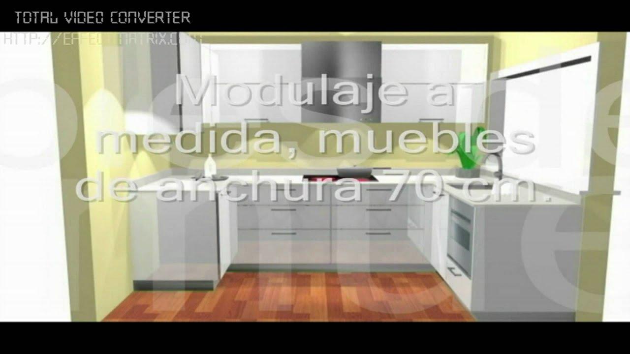 Planificar cocina optima 1 avi youtube - Planificar cocina online ...