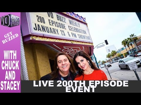 VO Buzz Weekly's 200th LIVE Show With Chuck & Stacey EP200