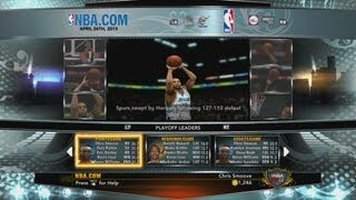 NBA 2K13 My Career - Live Streaming Semi Finals May 4th at 1PM Eastern