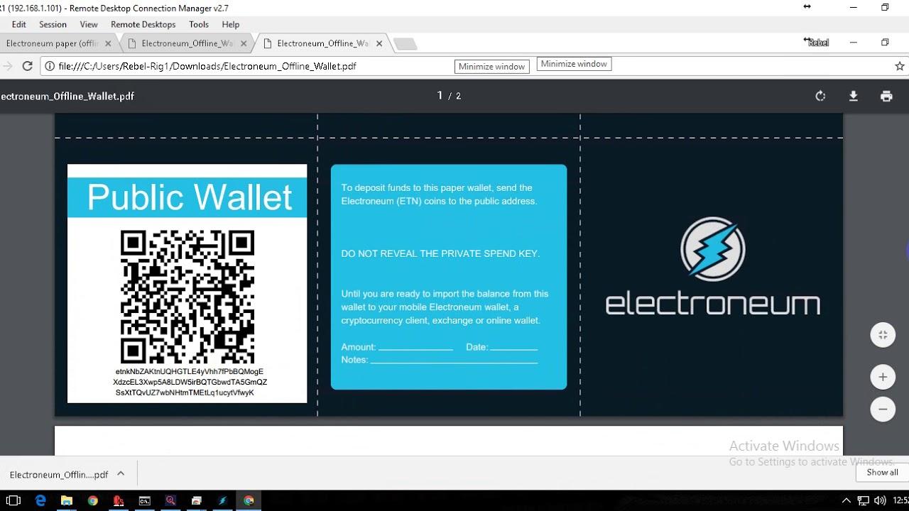 Offline Wallet