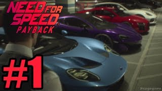 Need for Speed Payback Gameplay Walkthrough Part 1 ( Full Game ) - No Commentary