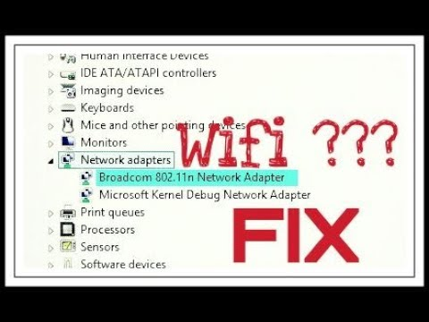 ACCIDENTALLY UNINSTALLED WIFI WINDOWS 8 DRIVER DOWNLOAD