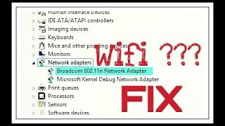 Wifi Adapter Network Not Working Properly   Fix