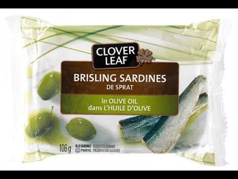 Brisling Sardines In Olive Oil