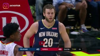 Nicolo Melli's first match performance at New Orleans Pelicans
