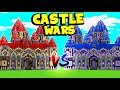 TECH GUNS IN CASTLE WARS  BRAND NEW MODDED GAMEMODE - MINECRAFT MODDED MINIGAMES