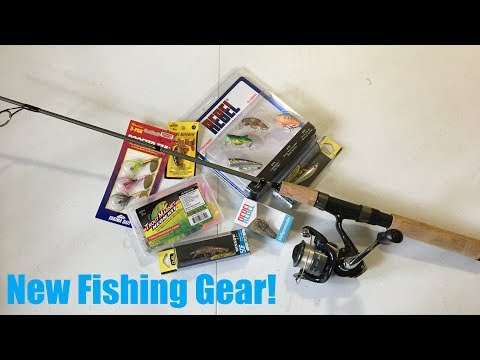 My NEW Ultra Light Fishing Gear!