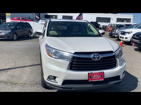 2015 Toyota Highlander Bronx, Mamaroneck, Yonkers, Larchmont, Westchester, NY U33033