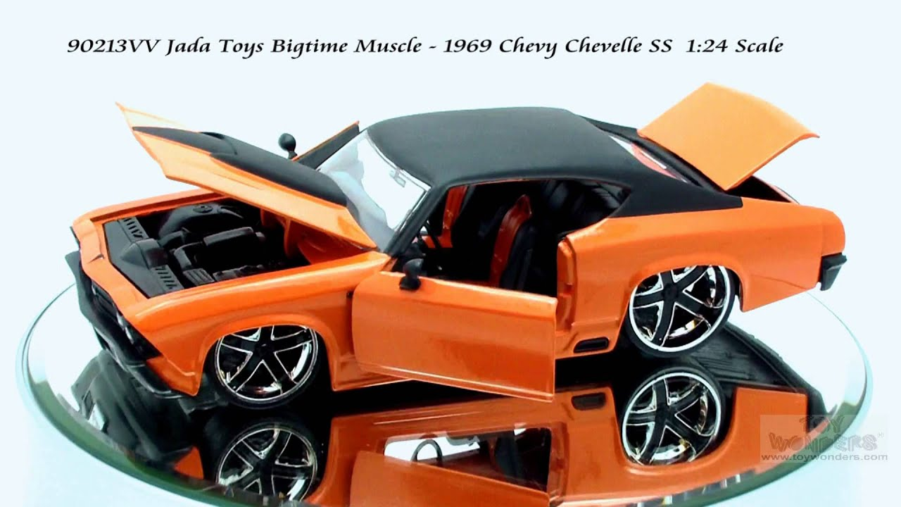 Jada Toys Bigtime Muscle Chevy Chevelle Ss Scale