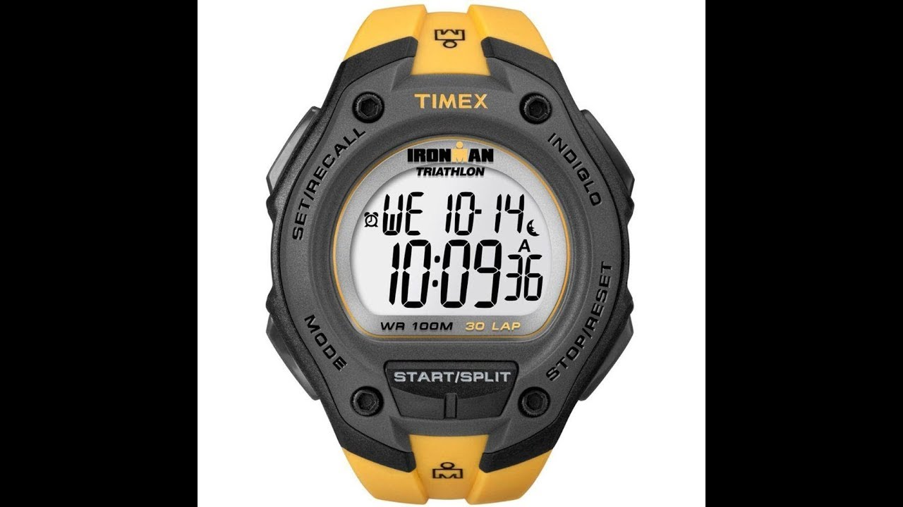 72d65edb4a4 Review do relógio TIMEX IRONMAN TRIATHLON PTBR - YouTube