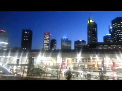 Perth night view from Northbridge