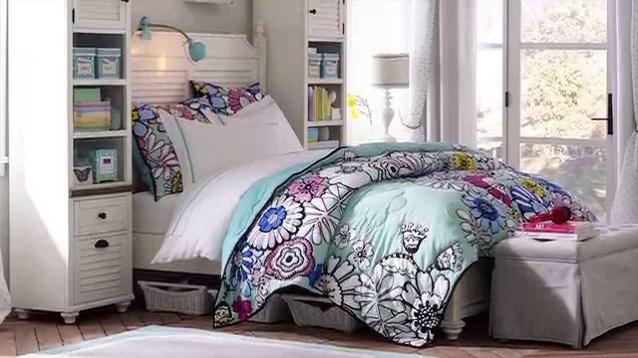 Whitney teen furniture for a gorgeous teen girl bedroom pbteen youtube - Bed room for teen ...