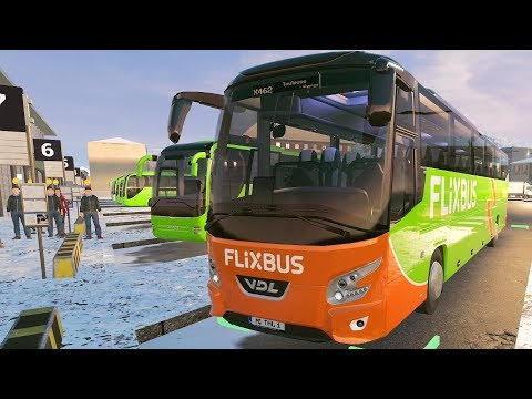 Coach Bus Simulator 2019 - France Winter Gameplay! 4K