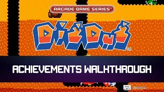 [Road to 100%] Arcade Game Series: Dig Dug - Achievements Walkthrough