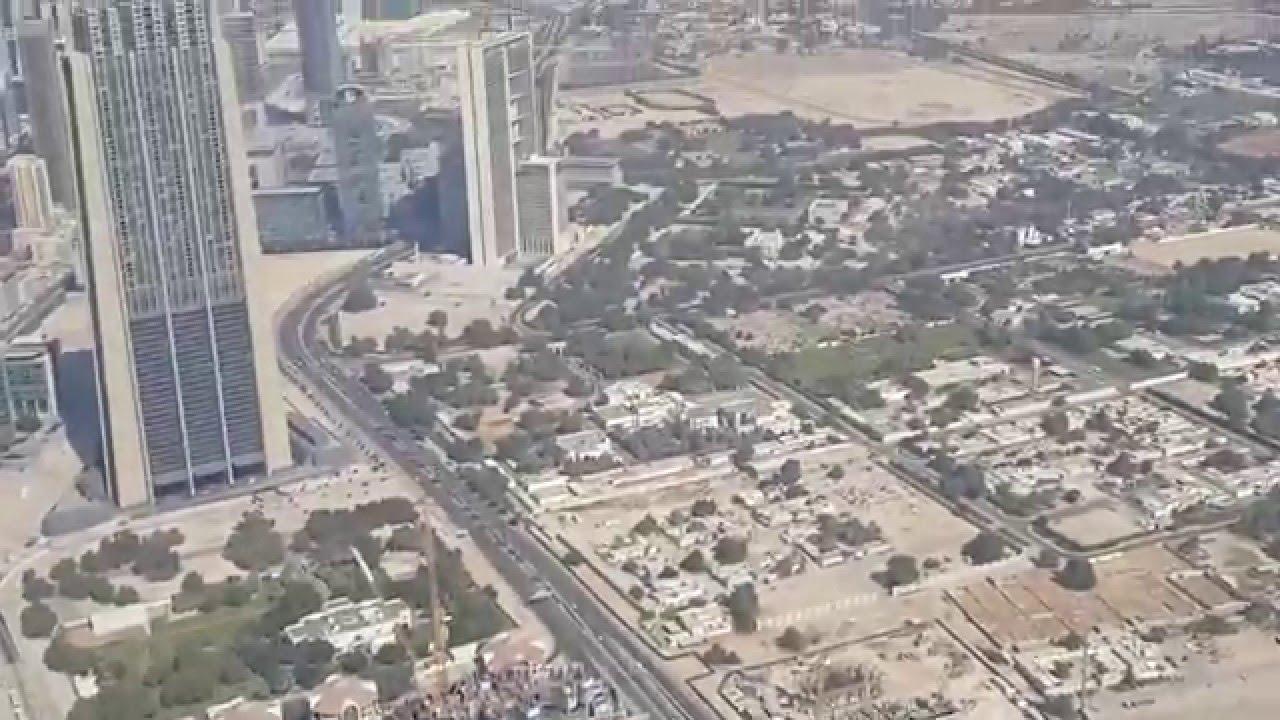 برج خليفة في دبي من الداخل Uae