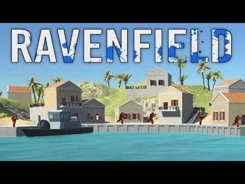 New Ravenfield Update! - Assault on the Red Harbor! - Ravenfield Gameplay
