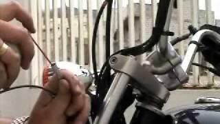 Mantenimiento de moto (Parte 7) Cambio del cable del velocímetro