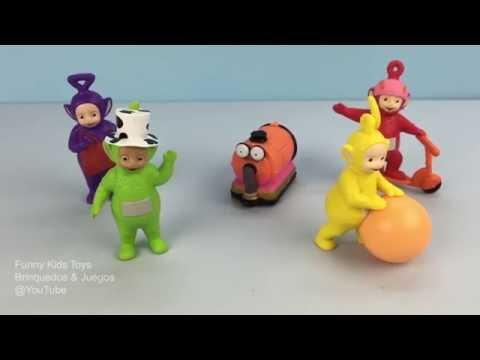 Teletubbies Tinky Winky Dipsy Laa Laa Po Noo Noo Toys Unboxing Fun For Kids