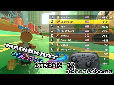 Mario Kart 8 DELUXE 7.6.6K Racing Points VR, Whatever it's called #WhatAShame