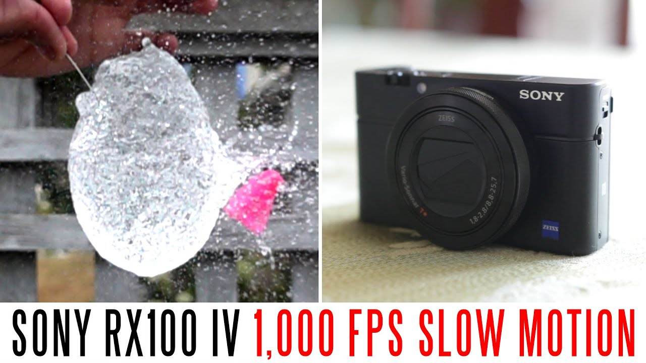 Sony RX100 IV Full HD 1,000 FPS Slow Motion Test - YouTube