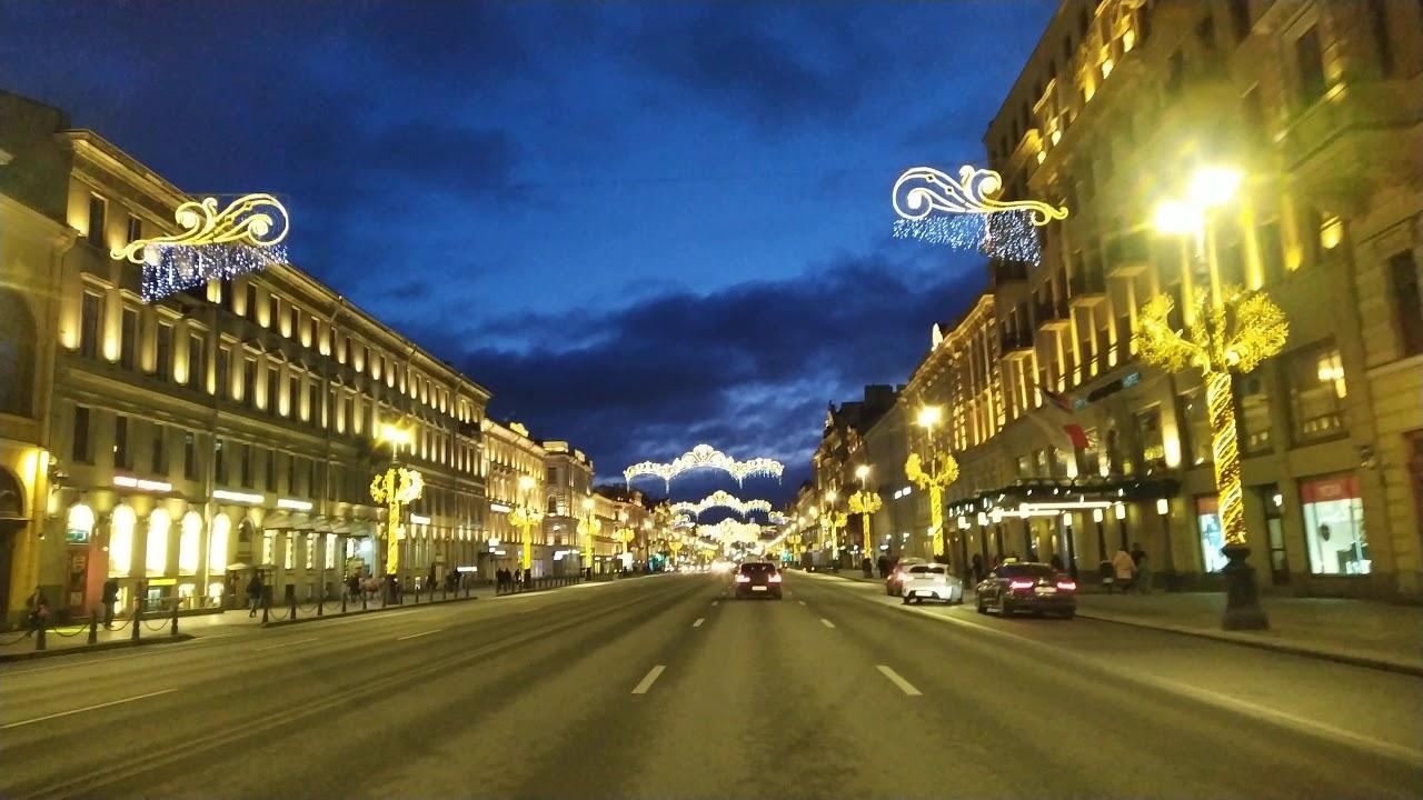 Санкт-Петербург, Невский проспект - YouTube