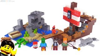 LEGO Minecraft Pirate Ship Adventure review ☠ 21152