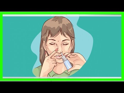 Как правильно использовать спрей для носа