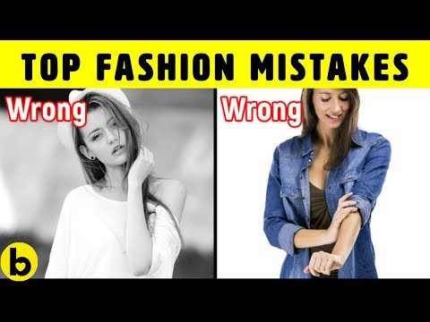 How To Style & Dress Well: Fashion Mistakes & Style Tips