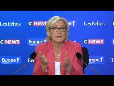 """Pour Marine Le Pen, une extension de l'accès à la PMA irait contre """"l'évolution législative"""""""