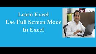 In this video Guru teaches how to switch to the full screen view mo...