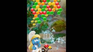 Smurfs Bubble Story Level 117 - NO BOOSTERS