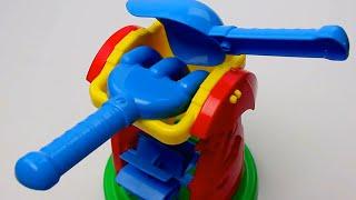 """Обзор - распаковка игрушек Песочный набор """"Мельница 3""""   ТЕХНОК Арт: 1356"""