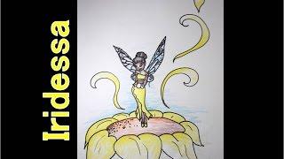 Desenhando em um minuto - Iridessa (tinker bell)