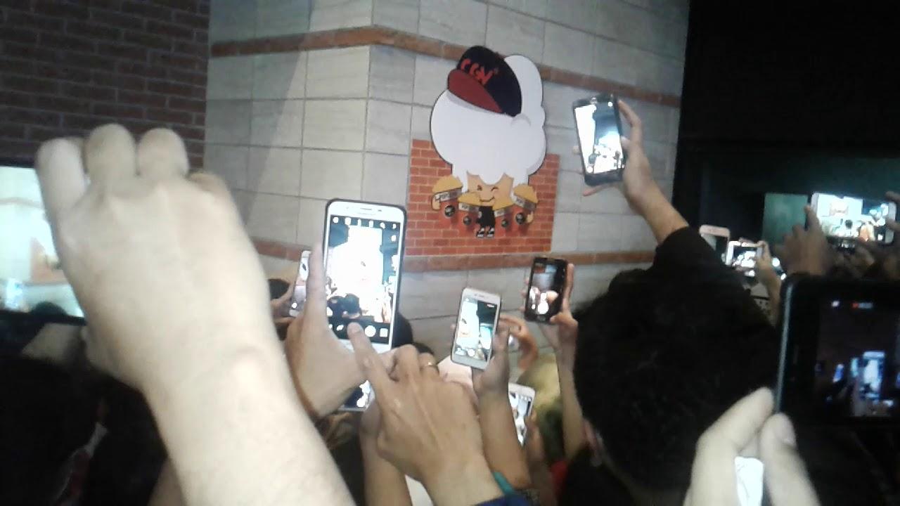 Berdesakan Meet Greet Warkop Dki Reborn Citra Raya Cikupa Cgv Ecoplaza Tangerang