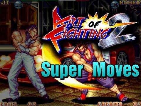 Art Of Fighting 2 Super Desperation Moves Ryuuko No Ken