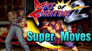 Art of Fighting 2 Super Desperation Moves