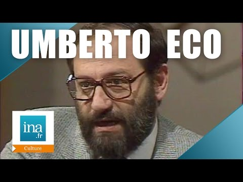 "Apostrophes : Umberto Eco ""Le Nom De La Rose"" | Archive INA"