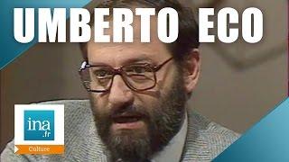 Apostrophes Umberto Eco Le Nom De La Rose Archive INA