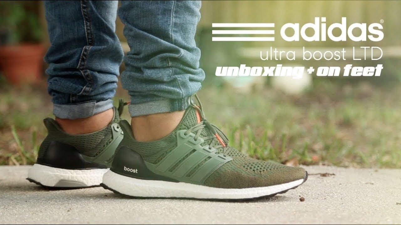 Adidas Ultraboost 1.0 Base green Olive & Burgundy - YouTube