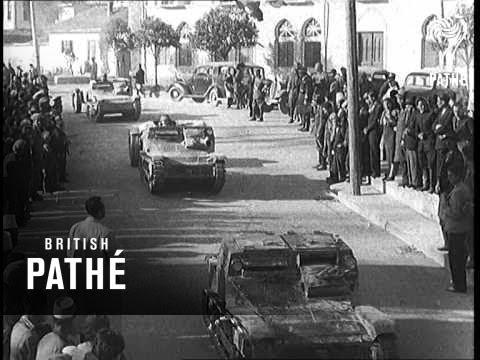 Invasion Of Albania (1939)