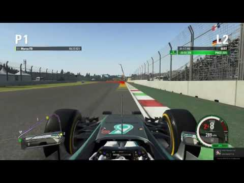 F1 2015 Mexico Time Trial Hotlap