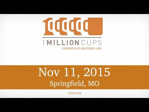 1 Million Cups--Springfield--Poing & StepNpull--November 11,2015
