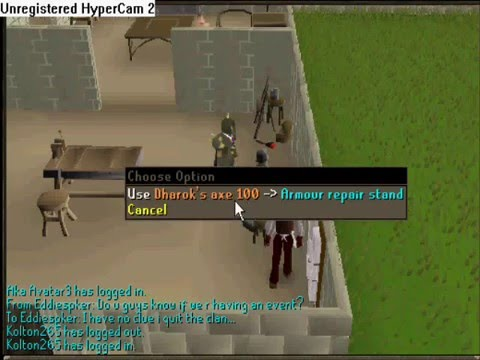 How To Fix Barrows Armour In Runescape Youtube