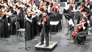 David Wong with TWHS Orchestra - Ellie Goulding/Burn