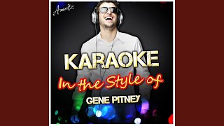 24 Sycamore (In the Style of Gene Pitney) (Karaoke Version)