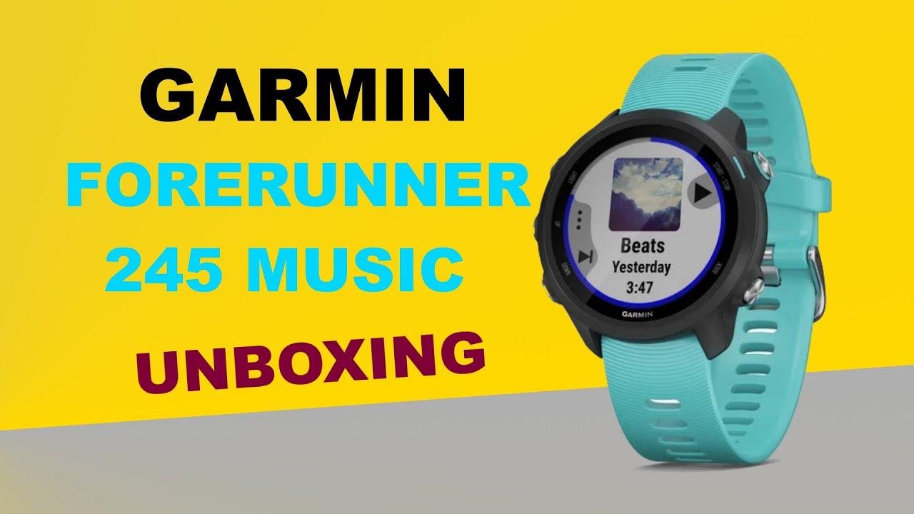 garmin forerunner 245 music