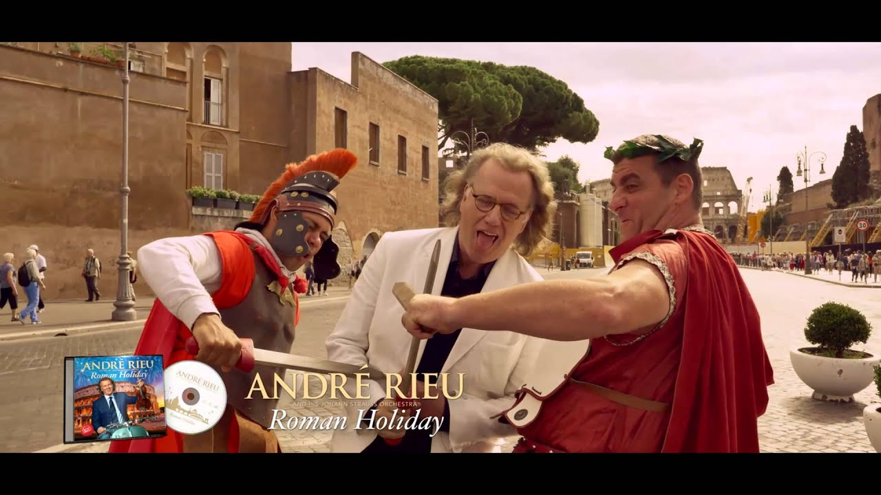 André Rieu introduces his new album 'Roman Holiday'